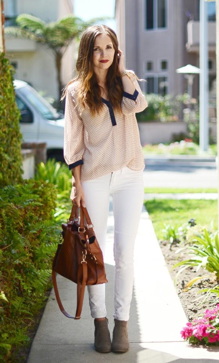 ootd-jean-femme-blanc-superbe-mode-tendance-2016-le-jean-blanc-femme