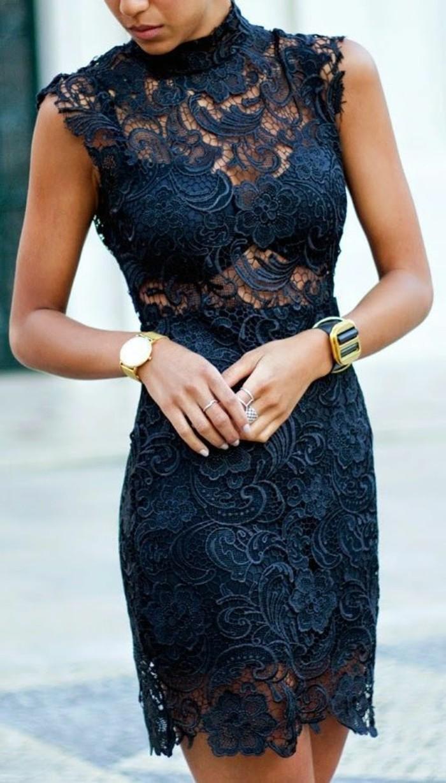 ootd-robe-dantelle-robes-dentelles-noires-bleu-foncé