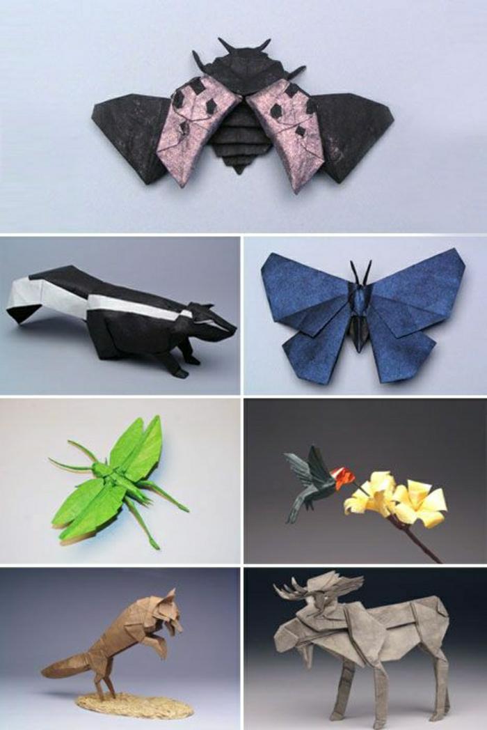 origami-pour-débutant-pliage-papier-origami-animaux-en-papier-pour-débutant