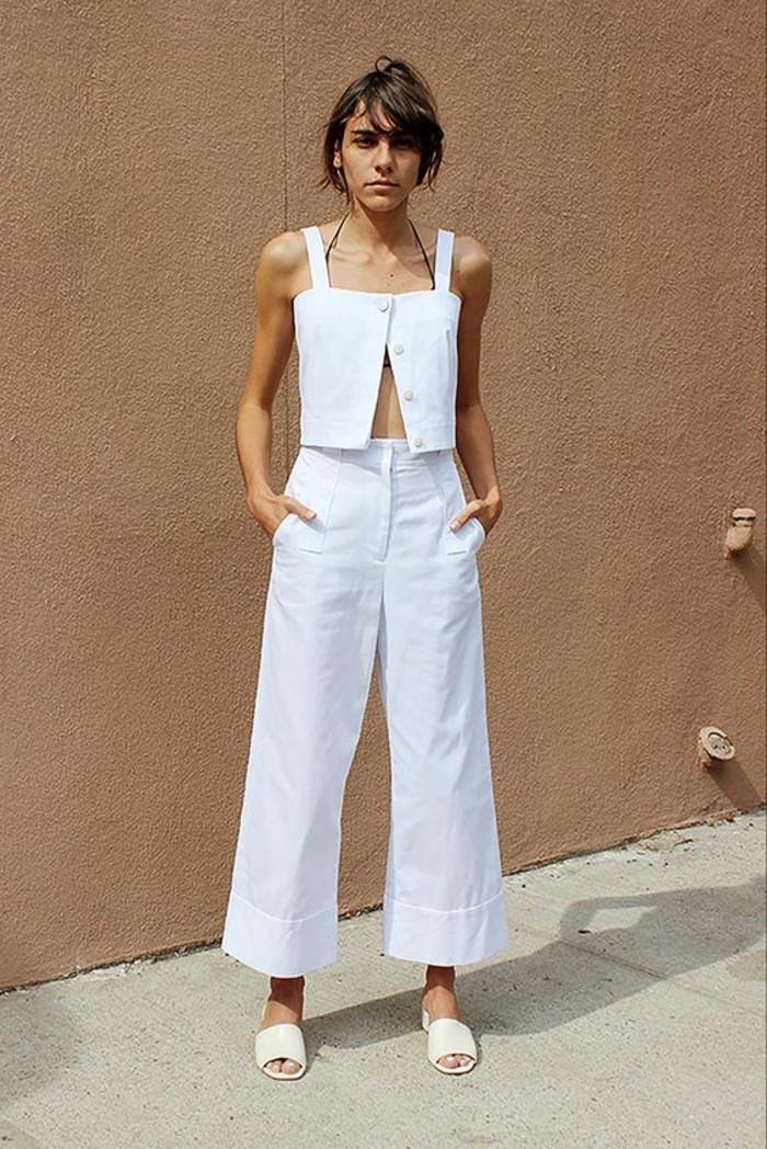 originale-tenue-jeans-femme-blanc-modele-veste-jean-blanc-femme-tenue-de-jour