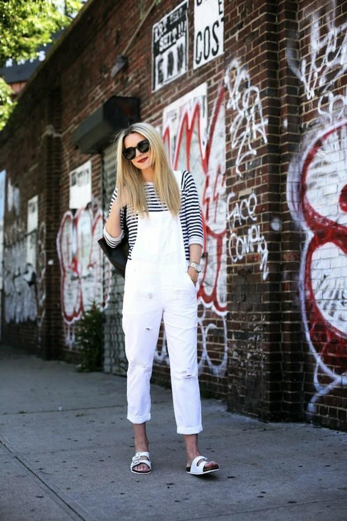 pantalon-skinny-blanc-femme-beauté-combinaison-blanc-jean