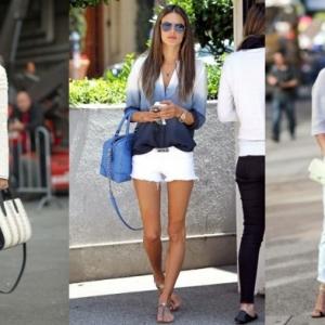 46 façons de porter les jeans blanc femme cette été!