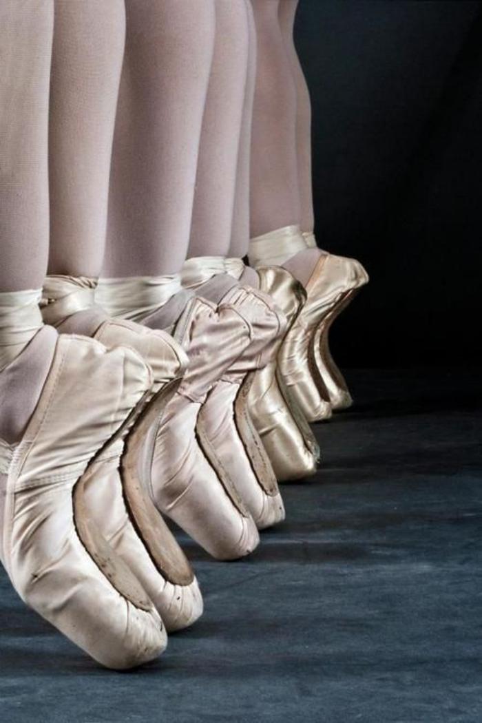 Les Merveilleuses Pointes De Danse Classique