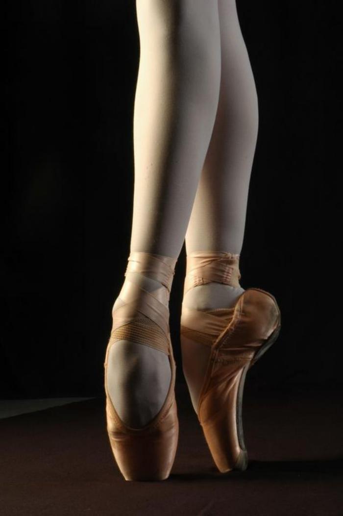 pied abimé danseuse classique