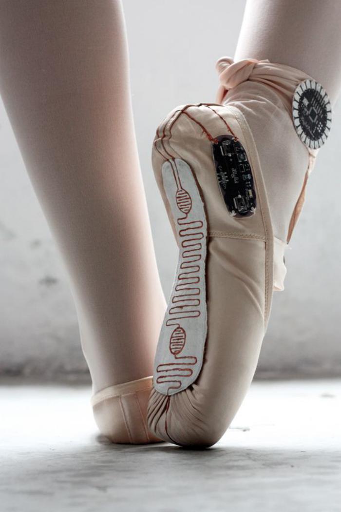pointes-de-danse-classique-pointes-danse-rose-poudrées