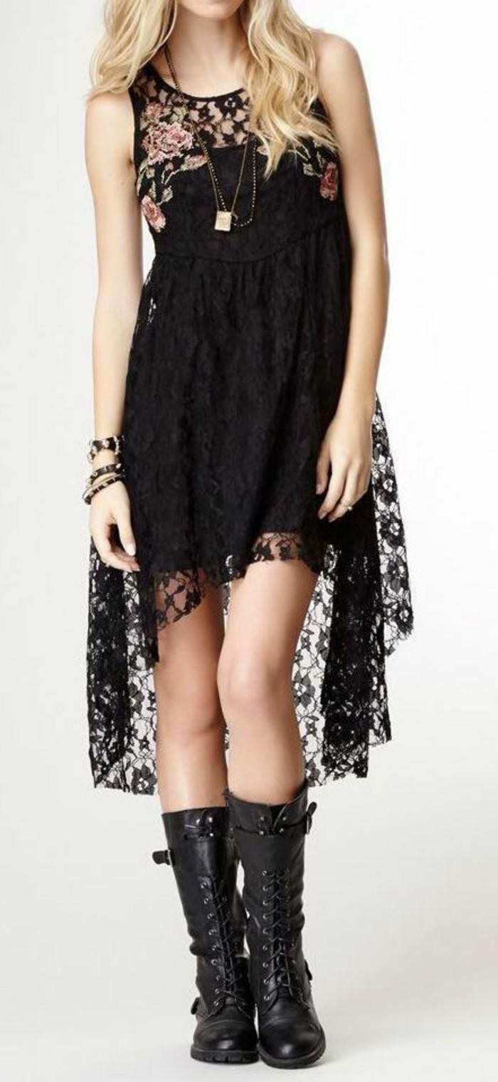 pratique-robe-longue-noire-dentelle-jolie-en-noire
