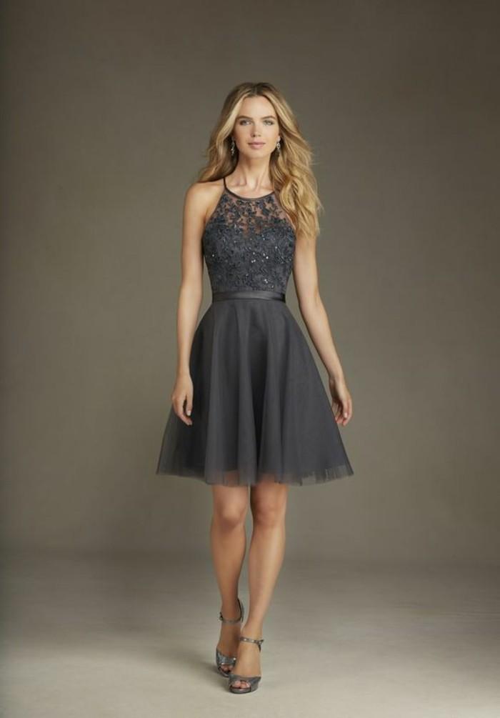 robe-courte-de-soirée-robe-grise-femme-robe-en-dentelle-grise-robe-de-mariage-pas-cher