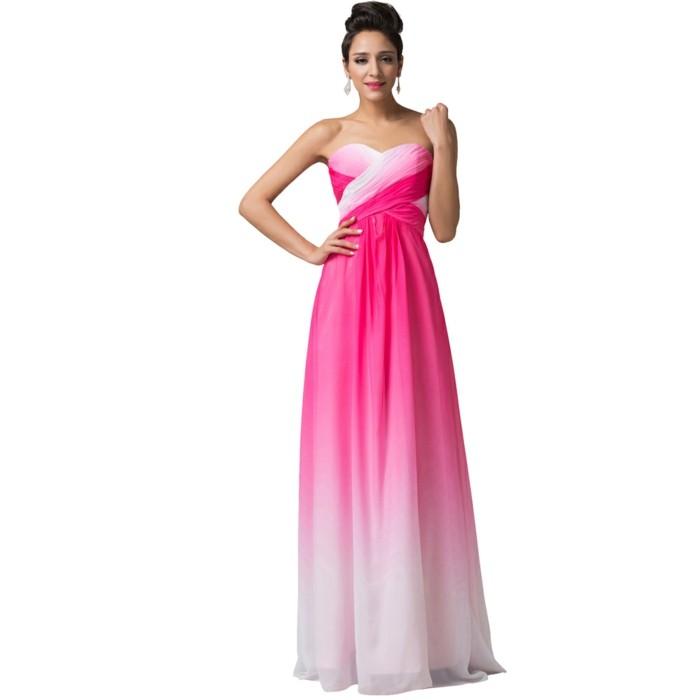 robe-de-soirée-longue-blanc-et-fuchsia-resized