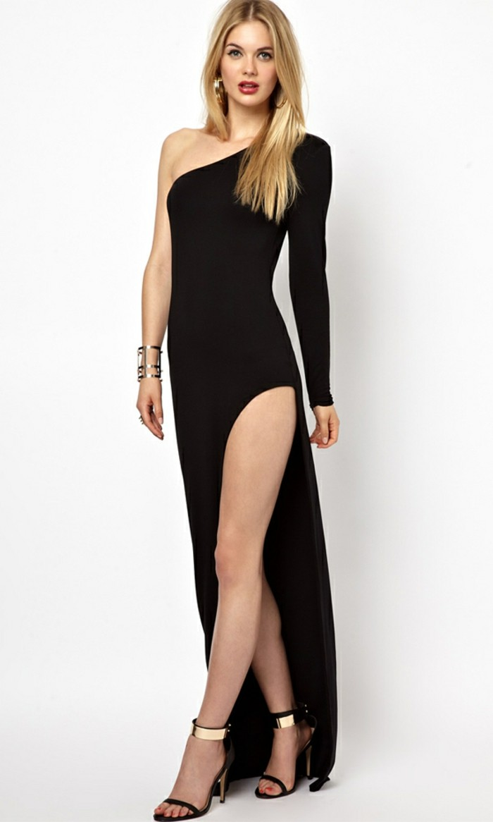 robe de soir e longue pour tre la vedette de l 39 v nement. Black Bedroom Furniture Sets. Home Design Ideas