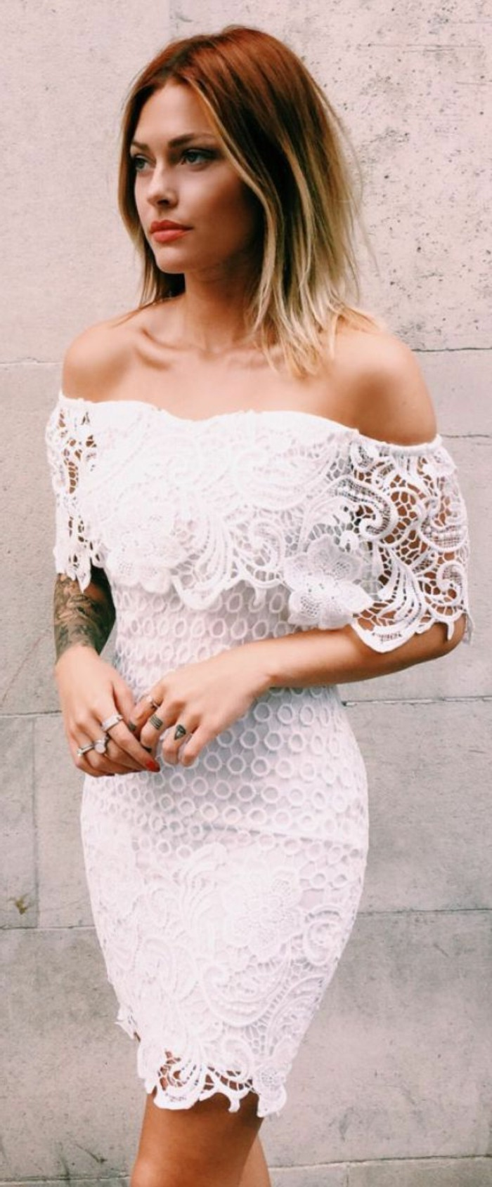 robe-en-dentelle-noire-robes-dentelle-blanc