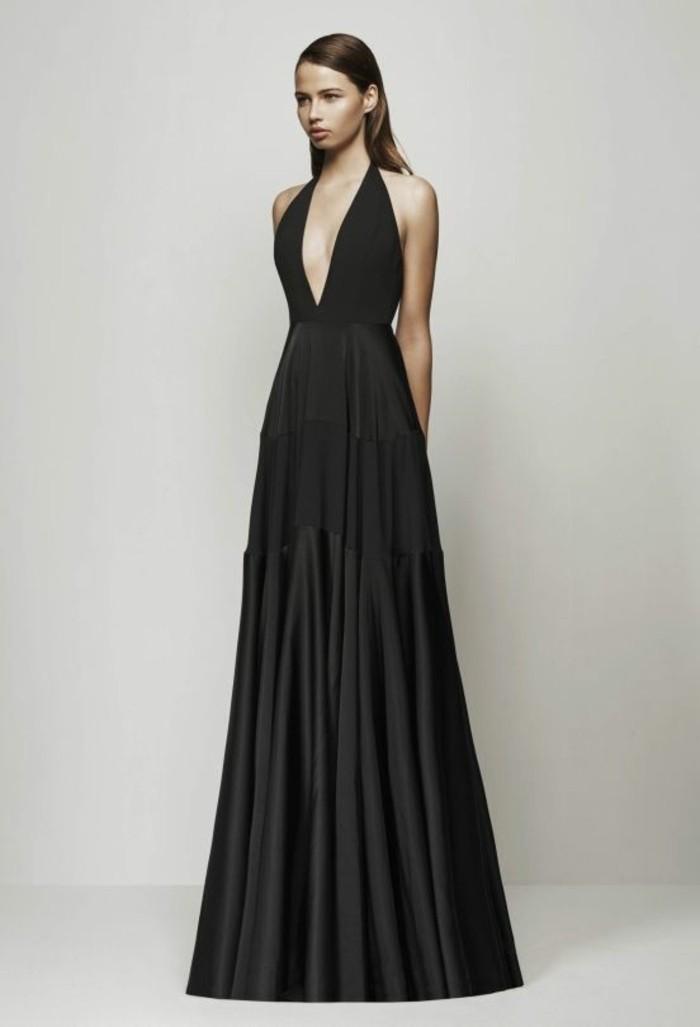 robe-longue-élégante-robe-de-soirée-noire-pas-cher-tenue-ceremonie-femme