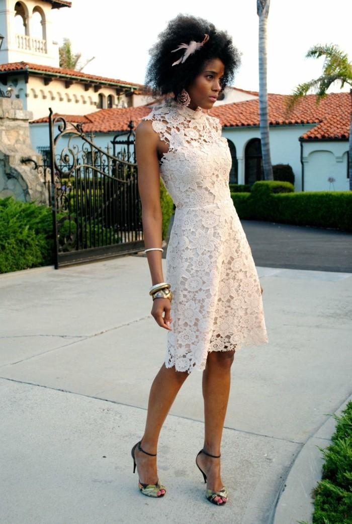 robes-avec-dentelle-belle-idée-tenue-cool-blanc