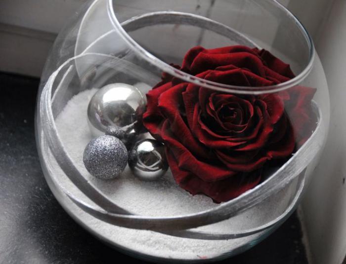 rose-stabilisée-belle-rose-rouge-en-composition