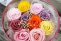 Essayez la rose stabilisée pour la décoration de vos tables