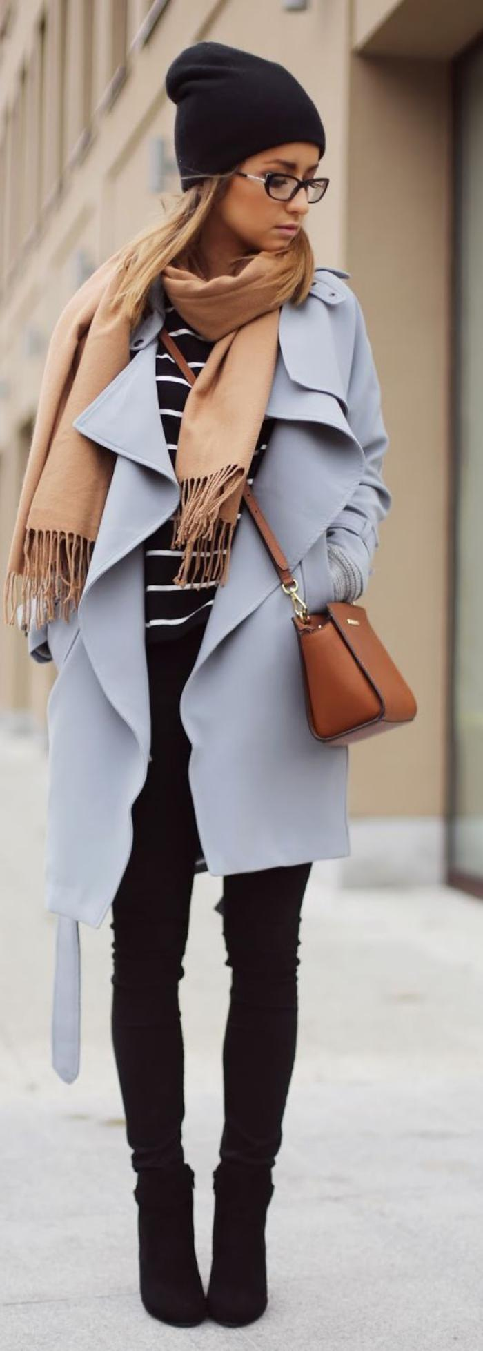 sac-camel-manteau-gris-skinny-noir