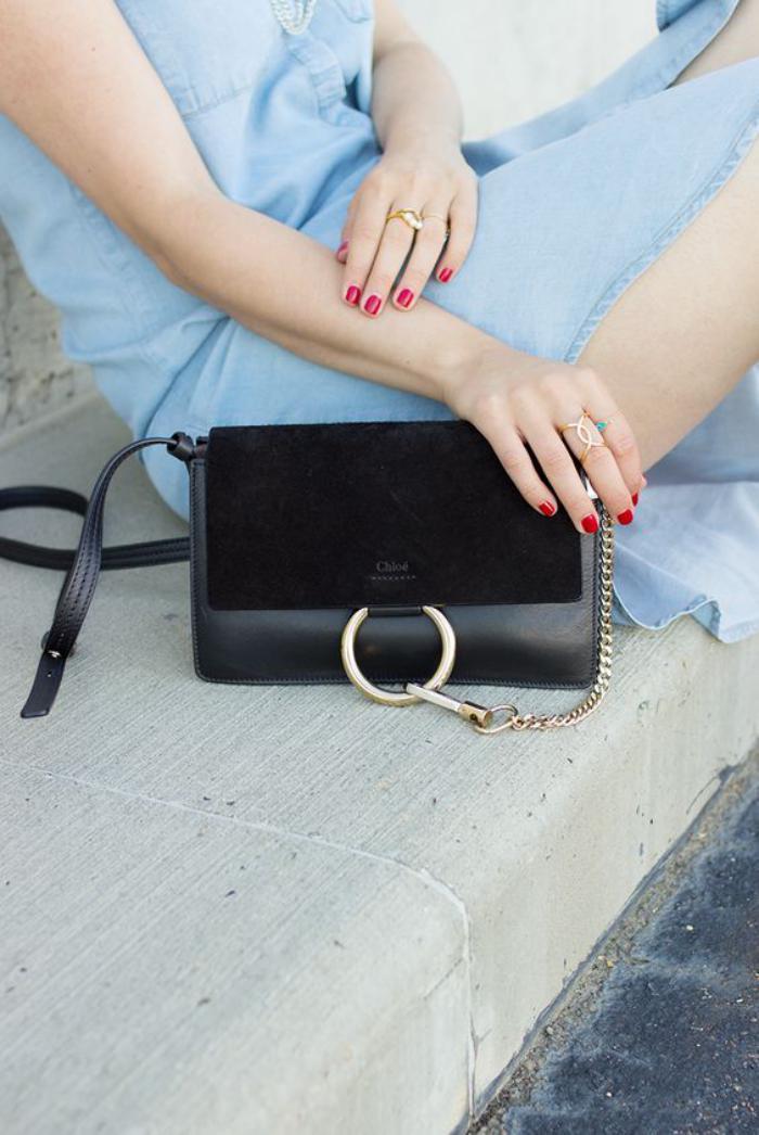 sac-chloe-noir-un-sac-de-luxe-porté-épaule