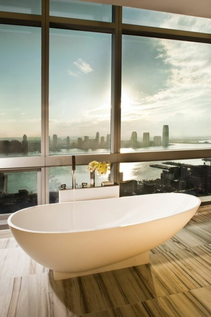 Comment cr er une salle de bain contemporaine 72 photos for Salle de bain new york