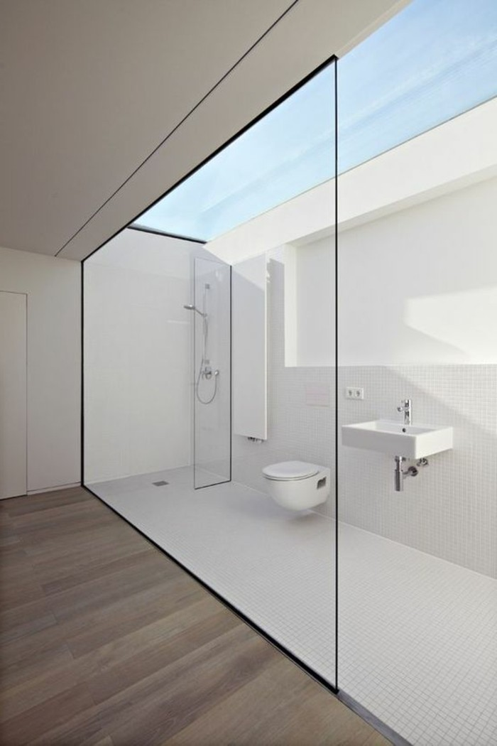 Comment cr er une salle de bain contemporaine 72 photos for Salle de bain mosaique