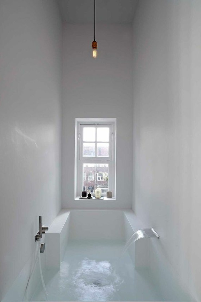 Cuisines noir for Photo salle de bain contemporaine