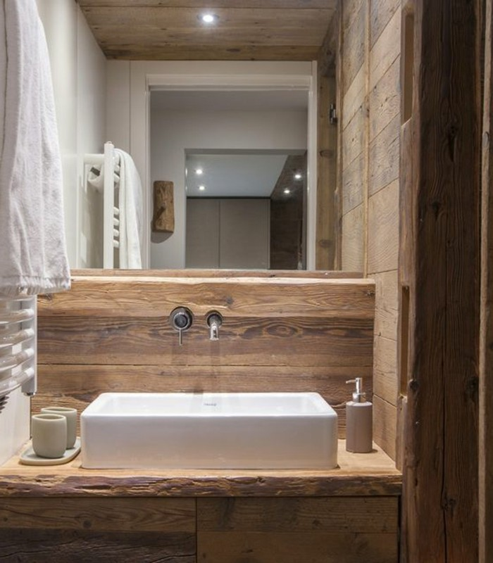 Comment cr er une salle de bain contemporaine 72 photos - Exemple amenagement salle de bain ...