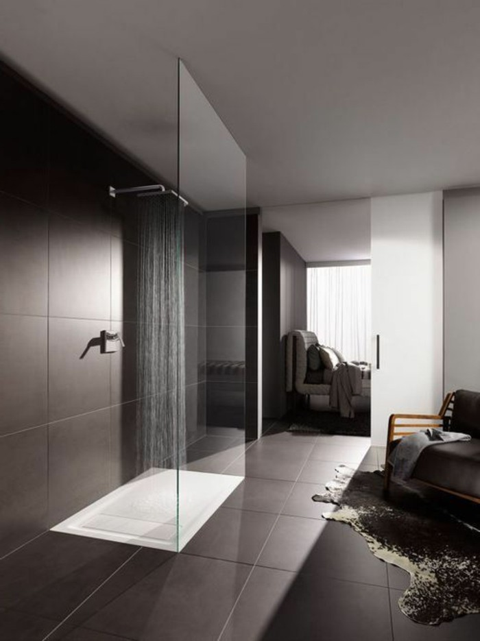 Comment cr er une salle de bain contemporaine 72 photos - Salle de bain a l italienne photo ...