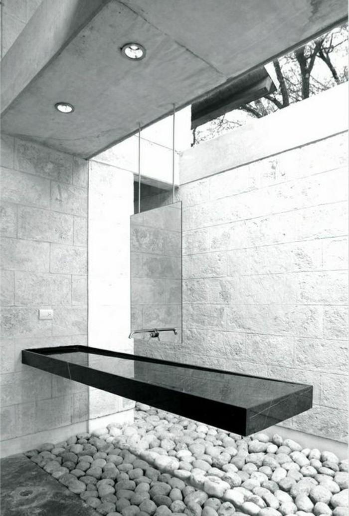 Comment cr er une salle de bain contemporaine 72 photos for Salle bain grise