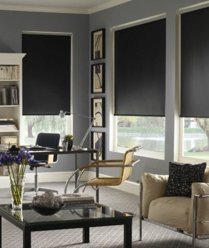 stores occultants selon l 39 int rieur et le type de la fen tre. Black Bedroom Furniture Sets. Home Design Ideas