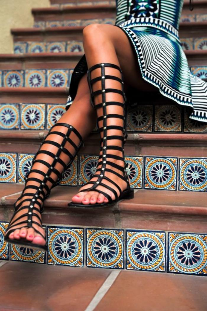sandales-montantes-spartiates-hautes