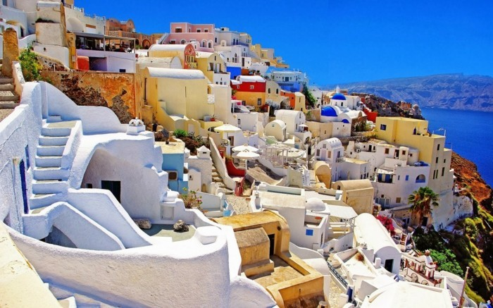 santorini greece amazing places around earth