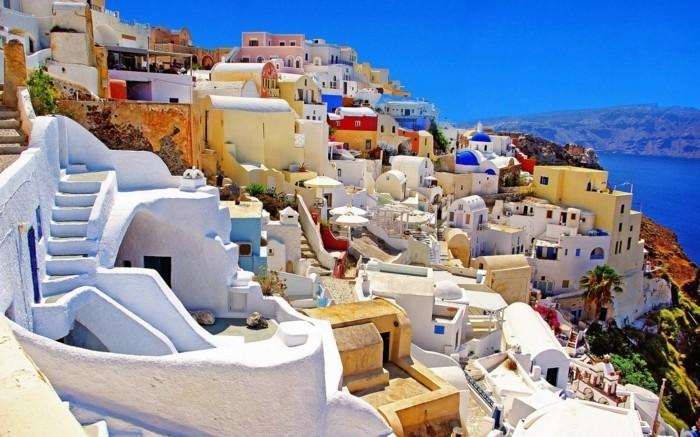 santorini greece amazing places around earth