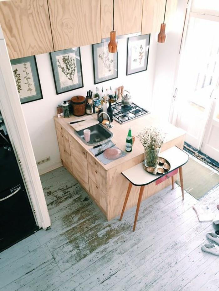 table-d-appoint-ikea-pas-cher-pour-la-cuisine-meubles-de-cuisine-en-bois-clair-parquet
