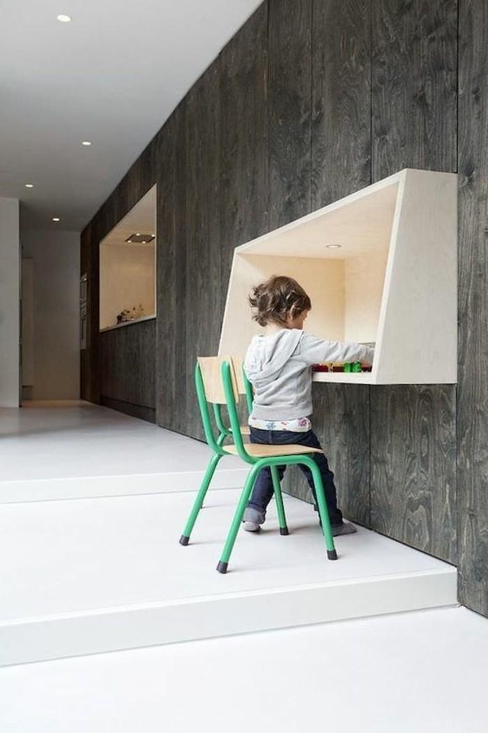 table-design-mural-en-bois-clair-meubles-mural-nos-idées-meubles-d-appoint