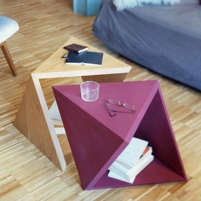 tables-basses-gigognes-en-bois-clair-table-design-coloré-sol-en-parquet