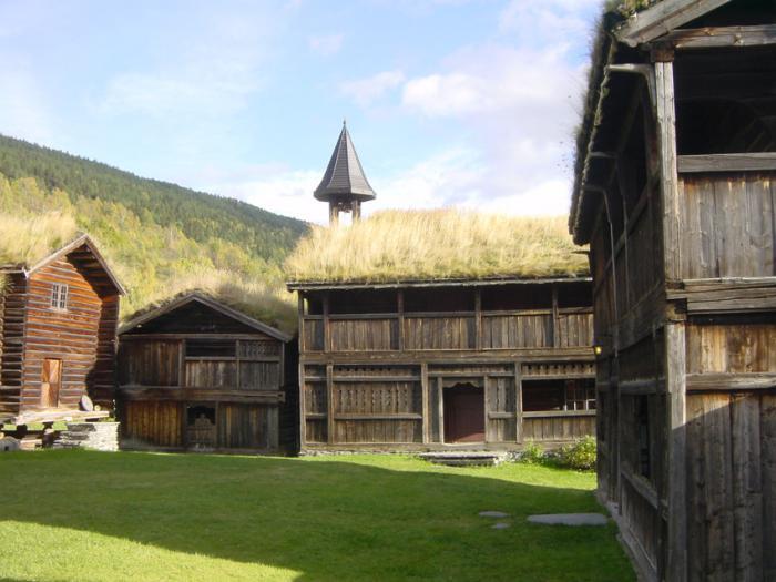 toiture-végétalisée-fermes-anciennes-aux-pays-scandinaves