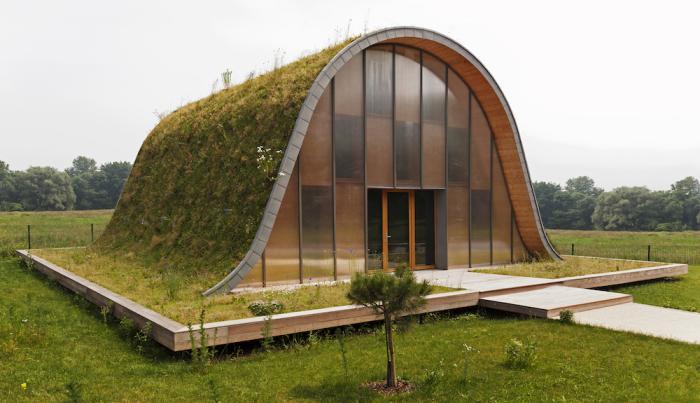 toiture-végétalisée-maison-minimaliste-moderne-avec-toit-vert