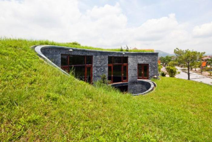 toiture-végétalisée-maison-moderne-en-pierre