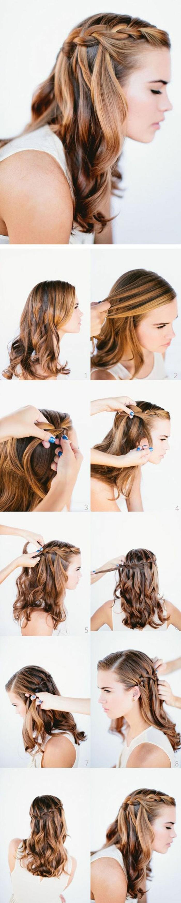 Quelle coiffure de soir e choisir 50 id es styl s et faciles faire - Idee pour une soiree ...