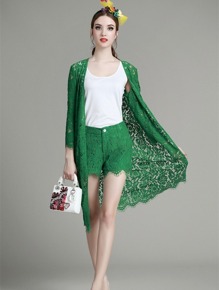 veste-d'été-femme-vert-dentelle-mi-longue-resized