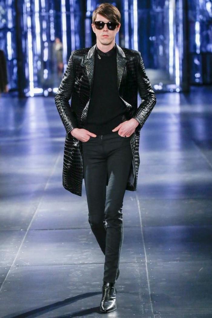 veste-en-cuir-noir-blouson-cuir-homme-redskins-les-dernieres-tendances-de-la-mode-lunettes-de-soleil-noirs