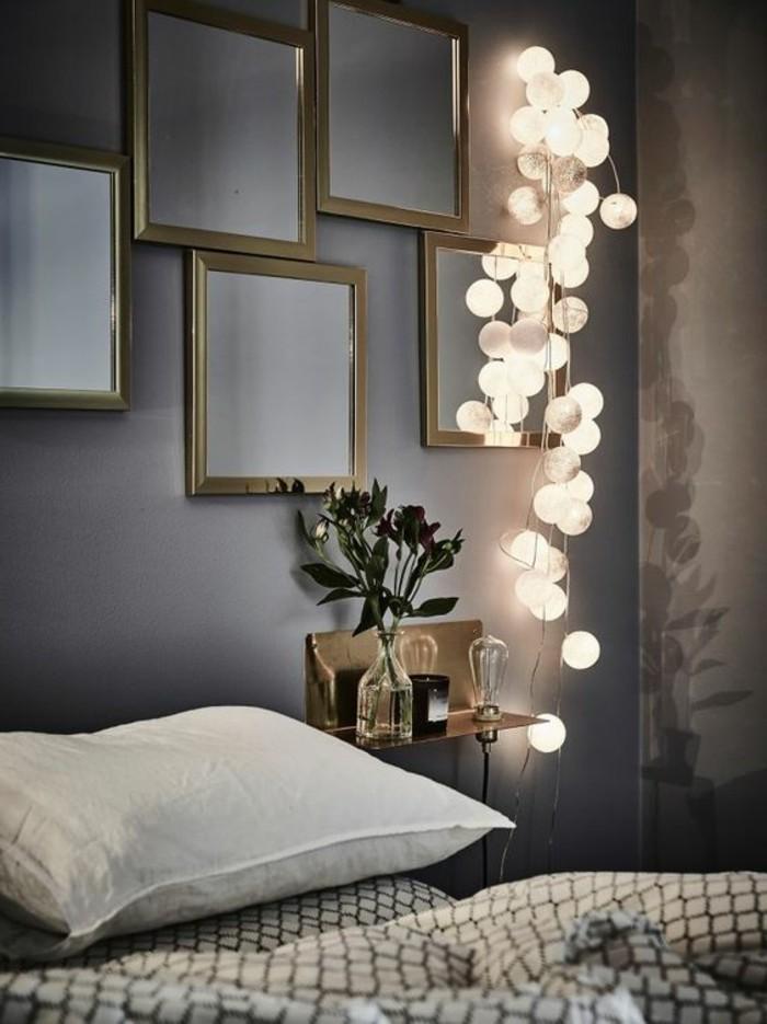 0-chambre-a-coucher-decoration-murale-avec-guiralnde-lumineuse-décorer-son-appartement