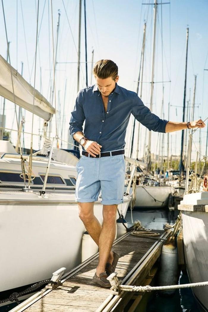 0-coupe-de-cheveux-homme-court-sur-les-cotés-shortes-homme-en-bleu-ciel-chemise-bleu