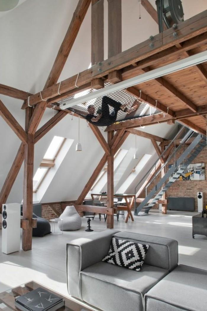 0-déco-appartement-étudiant-canape-gris-interieur-industriel-deco-pas-cher-amenagement-sous-combles