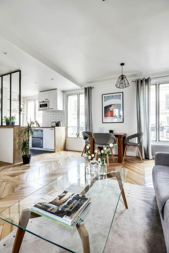 56 id es comment d corer son appartement for Deco appartement parquet