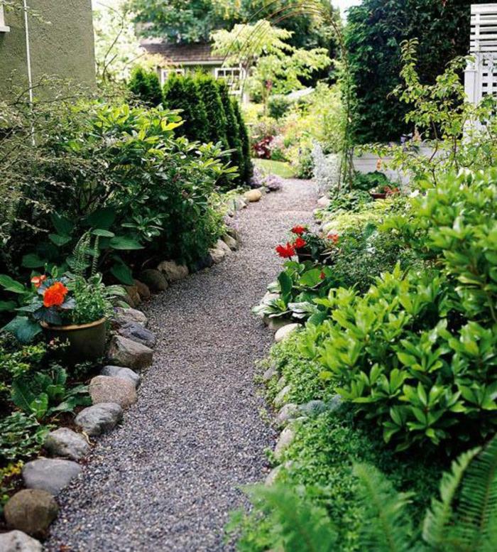 Alle Jardin Gravier Simple Jardin Gravier Comment Enchanteur Jardin