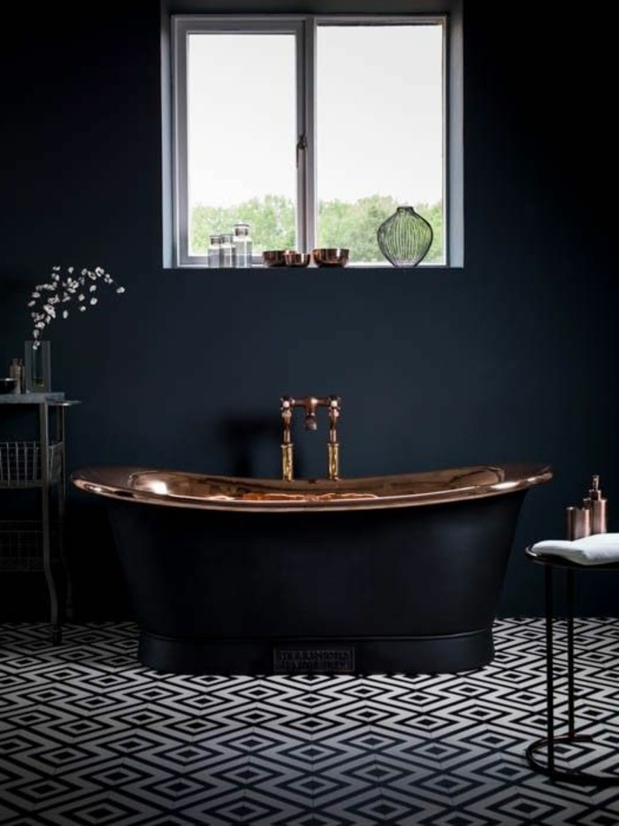 salle de bain mosaique couleur avec des id es int ressantes pour la conception de. Black Bedroom Furniture Sets. Home Design Ideas