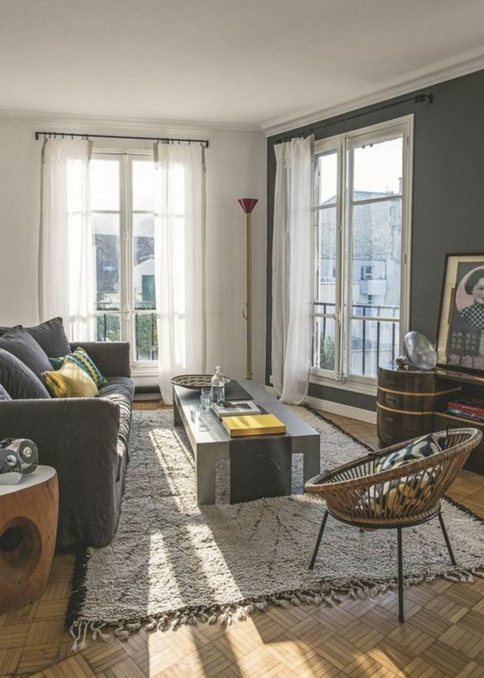 56 id es comment d corer son appartement for Decorer son salon en gris