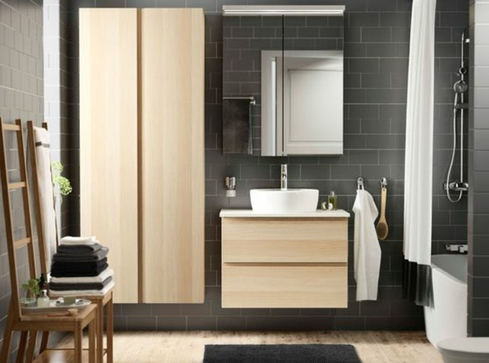 trendy cool plan salle de bain ikea sur la colonne de. Black Bedroom Furniture Sets. Home Design Ideas