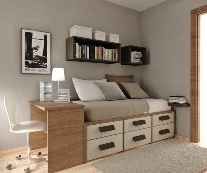 Couleur Peinture Murale : Peinture couleur lin – à votre attention une chambre à coucher