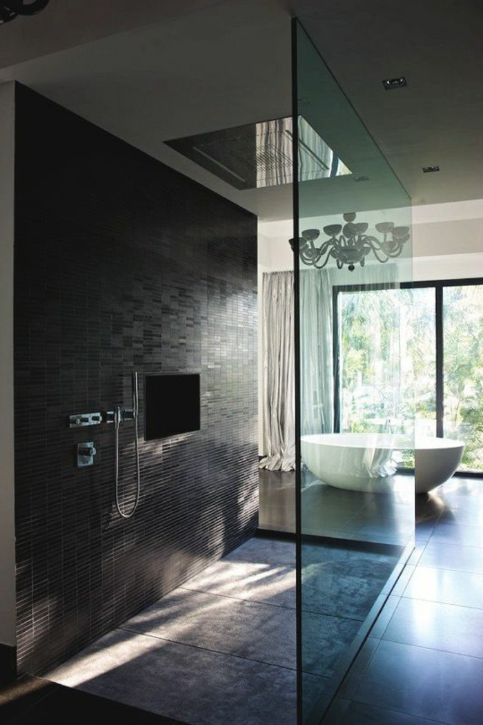 salle de bain avec douche italienne design id e inspirante pour la conception de. Black Bedroom Furniture Sets. Home Design Ideas