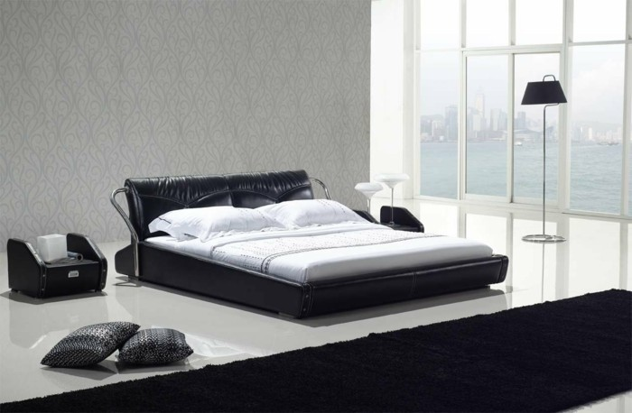 Choisissez un lit en cuir pour bien meubler la chambre for Chambre a coucher parentale